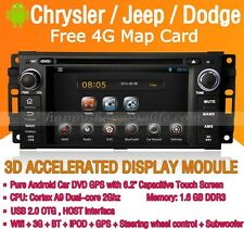 Android Car DVD Autoradio Stereo GPS Wifi 3G BT for Dodge Caravan Jeep Wrangler