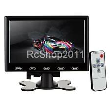 7 inch HD HDMI LCD Display Screen Monitor / VGA / HDMI / AV / Audio Black