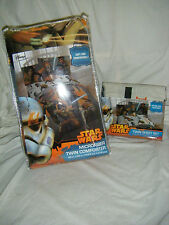 NEW Disney Star Wars Rebels MICROFIBER TWIN Sheet & Comforter Bedding 4 pc. Set