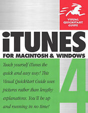 iTunes 4 for Macintosh and Windows (Visual QuickStart Guides),ACCEPTABLE Book
