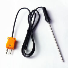HOT Temperature Controller K Type Thermocouple Probe Sensors 100cm Wire Cable 1M