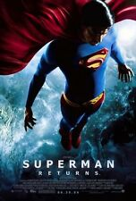 SUPERMAN RETURNS - 2006 orig D/S 27x40 REGULAR movie poster - BRANDON ROUTH