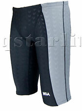 Men Male Racing Competition Racer Trunk  Swimwear Jammer Splice Size 32 XL