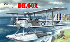 Avis 1/72 de Havilland DH.60X RAF Gipsy Moth Coupe Float Plane # BX72020