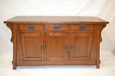 Mission Oak Sofa Table Entry Way Sofa Table Crofter Style sideboard buffet