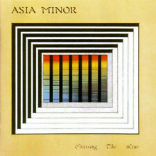 asia minor - crossing the line ( FRA ) - 111 Records  - coloured vinyl - LP