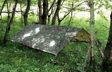 Large Military Basha Army tarp camo bivi tent Fishing camping Hunting Shelter