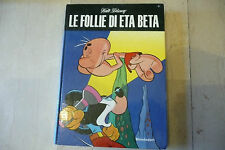 "LE FOLLIE DI ETA BETA-Fumetto cartonato WALT DISNEY-1'Ed.MONDADORI 1971"" A2"