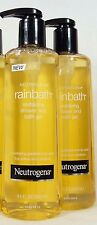 2 Neutrogena RAINBATH Revitaliving Shower Bath Gel GRAPEFRUIT Softens