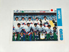 Rare FRANCE 98 FIFA World Cup Football Soccer Onze Mondial Japan Team Photo Card
