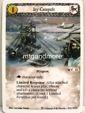 A Game of Thrones LCG - 1x Icy Catapult #012 - Ice and Fire Draft Pack