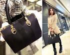 New Designer Large Womens Leather Style Tote Shoulder Bag Handbag Ladies Hobo
