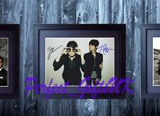 TEGAN AND SARA QUIN FRAMED & MOUNTED SIGNED 10x8 REPRO PHOTO PRINT