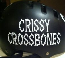 Custom Roller Derby Vinyl Sport Helmet Decal Name ONLY