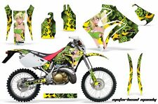 Honda Graphic Kit AMR Racing Bike Decal CRM  250AR Decal MX Part ALL MANDY GREEN
