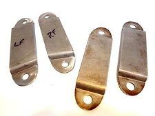 1935 1936 Auburn four Bumper Guard Backing Plates 851 852 653 654 Speedster part