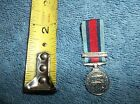 MINI FRENCH MEDAL NORMANDY BAR D DAY 1944 - NICE OLD REMEMBER SOUVENIER