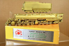 SUNSET MODELS INC KOREAN BRASS UNION PACIFIC UP 4-8-8-4 BIG BOY LOCO LATE MIB ni
