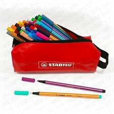Stabilo Ultimate 46pc Adult Colouring Set - Point 88's & Pen 68's in Pencil Case