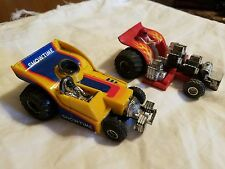 1987 Matchbox Showtime & Hot Stuff Super Chargers diecast Tractor