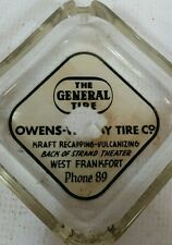 VTG the General Tire Store Tractor Farm Vulcanizing Ash Tray Motorcycle Auto