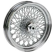 "80 SPOKE TWISTED 16"" REAR WHEEL HARLEY SOFTAIL FXST FXSTC FXSTSB BAD BOY 84-99"