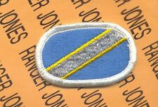 19th Special Forces RI Det 56th STARC Airborne para oval patch #2 m/e