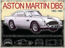 ASTON MARTIN DB5 SPORTS CAR JAMES BOND 007 METAL SIGN TIN PLAQUE MAN CAVE 279