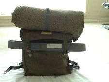 NVA EAST GERMAN MILITARY BACKPACK WITH STRAPS-RAIN PATTERN CAMO SMALL RUCKSACK