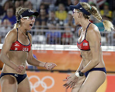 April Ross Kerri Walsh Jennings Rio 2016 Olympic Beach Volleyball 8X10 Photo