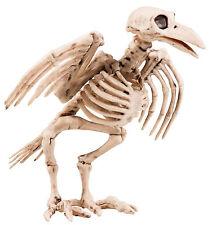 Krähen Skeleton Halloween Deko NEU - Partyartikel Dekoration Karneval Fasching