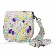 Instant Camera Case PU Leather Floral Shoulder Bag for Fujifilm Instax Mini 8