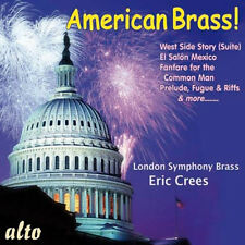 CD AMERICAN BRASS COPLAND BARBER BERNSTEIN IVES COWELL WEST SIDE STORY AMERICA