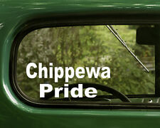 Chippewa  Decal Stickers Pride (2) Native American for Cars Trucks, Laptops