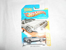 HOT WHEELS 2011 New Models Back to the Future Time Machine 18/50 BTTF bin(20)