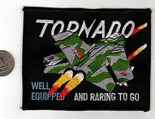 NATO German Luftwaffe Squadron Tornado Patch and British Royal Air Force Fighter