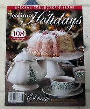 TEATIME HOLIDAYS Special Collector's Issue 108 FESTIVE RECIPES Thanksgiving TEA
