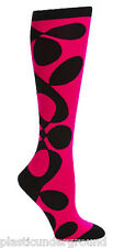 NWT SOCK IT TO ME MONDO GUERRA ABSTRACT KNEE HIGH SOCKS ROLLER DERBY CUTE FUNKY