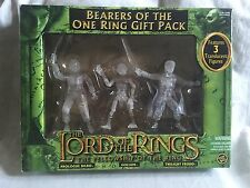 FREE POST rare BOXED LORD OF THE RINGS Bearers Of The One Ring GIFT SET TOLKIEN