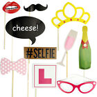10Pcs Hen Party Wedding Photo Booth Props Kit Night Games Accessories Favors DIY