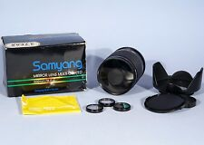 Samyang 500mm f/8 Mirror Lens Boxed & Complete T2 * Near Mint *