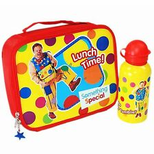Hello Mr Tumble Spotty Lunch Bag and Metal Water Bottle Set CBeebies TV Show