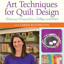 NEW DVD: QUILTING ARTS WORKSHOP: ART TECHNIQUES FOR QUILT DESIGN: Drawing, Compo
