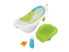 Mother's Helper Fisher-Price 4-in-1 Sling 'n Seat Bath Tub, Baby Infant Toddler