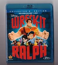 Wreck-It Ralph [Blu-ray + DVD, Region Free, 2-Disc] Excellent Condition