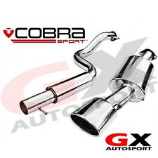 SE06 Cobra Sport Seat Leon 1.9 TDi 1M-Mk1 99-05 Cat Back Exhaust Resonated