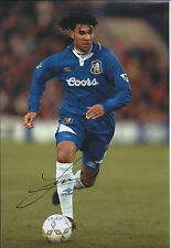 Ruud GULLIT Signed Autograph 12x8 Photo AFTAL COA CHELSEA Legend Authentic
