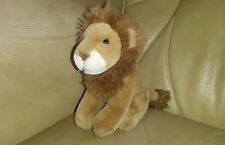 Small Cute Russ Berrie Lion Beanie Soft Toy