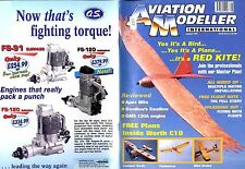 AVIATION MODELLER INTERNATIONAL MAGAZINE 1997 AUG, CENTURY HAWK 30, MIGHTY MITE