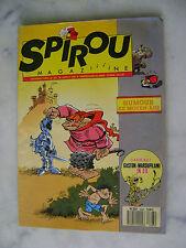 """Spirou magazine n° 2693 + supplément """"figurines Gaston Lagaffe"""""""